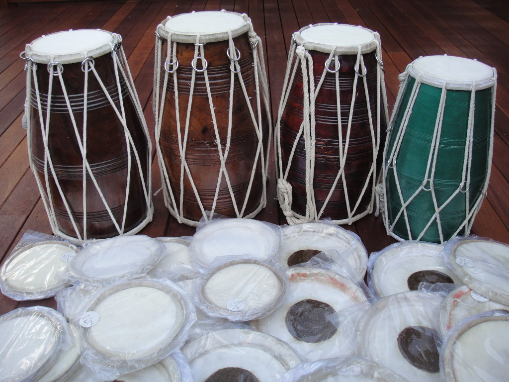 Dholaks and skins